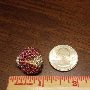 Vintage Jewelry - Vtg. Monet Ladybug Brooch